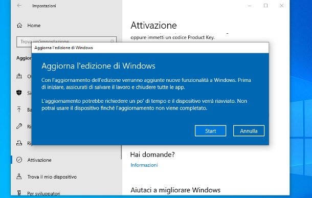 Cómo cambiar de Windows 10 Home a Pro