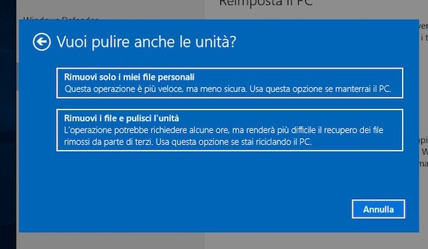 Captura de pantalla de Windows 10