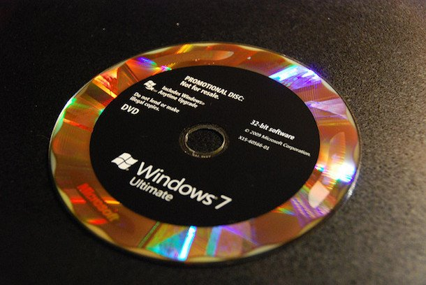 Foto de DVD de Windows 7