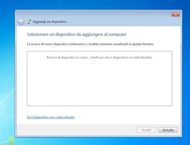 Captura de pantalla de Windows 7