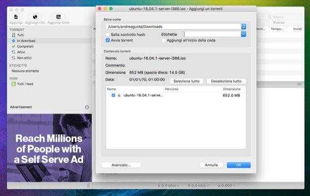 Cómo usar uTorrent Mac
