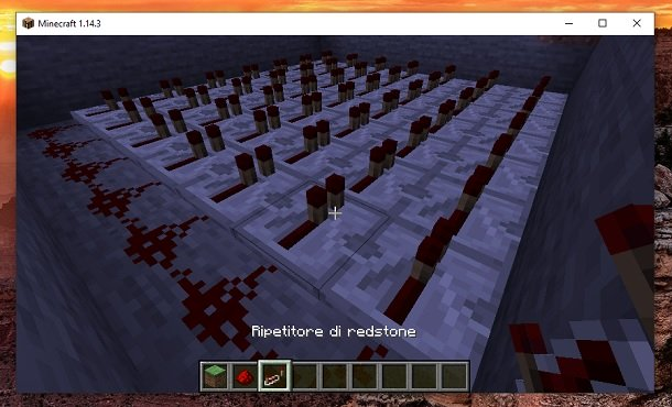Repetidor de Minecraft Redstone