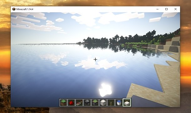 Shaders Minecraft SEUS