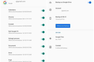 Come fare un backup Android su cloud