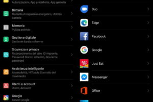 Sincronizzare rubrica Android su Google